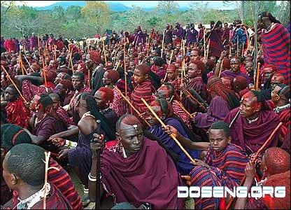 Как юноши племени масаи становятся мужчинами? (10 фото)