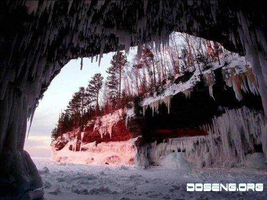 Очень красивые пещеры
