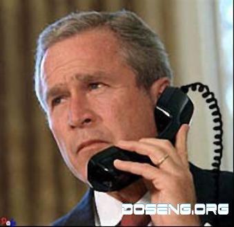 Буш перепутал телефонный номер и