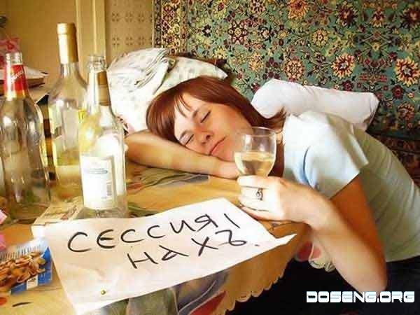 Как сдают сессию русские и японцы (2 фото)