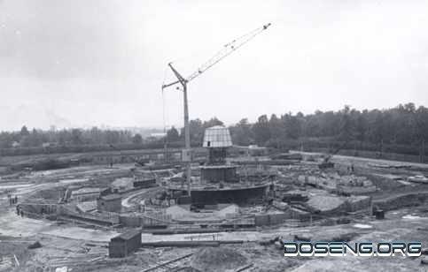 Строительство Останкинской башни