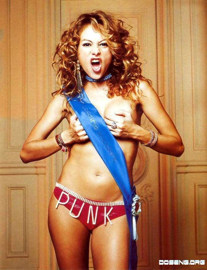 Paulina rubio nude pics