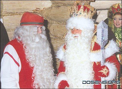 Все что нужно знать о Деде Морозе и Санта Клаусе