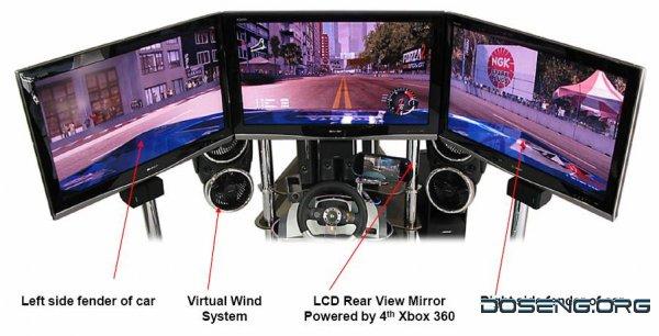 VRX MACH 4 – самый навороченный комплекс для гоночных симуляторов