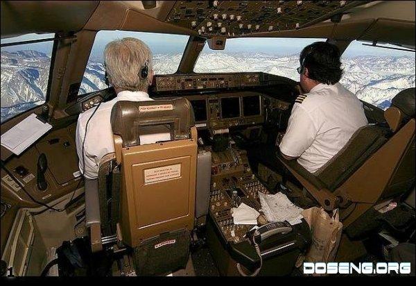 Вид из кабины пилотов самолета (14 фото)