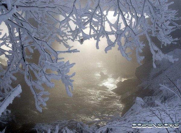 Впечатляющие фотографии зимы. Фотограф Михаил Ткачев (34 фото)