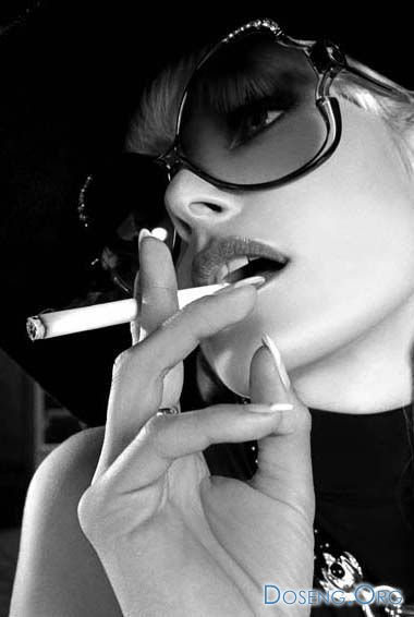 Курящие женщины - это сексуально (27 фото)