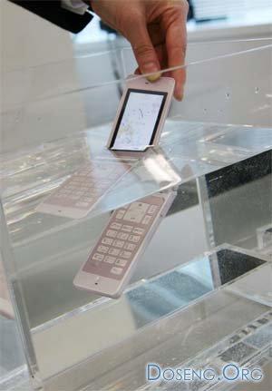 Самый тонкий водонепроницаемый телефон Fujitsu F705i