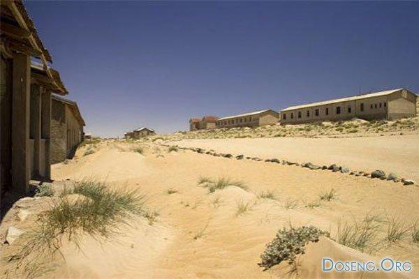 Заброшенный город в пустыне Намибии (12 фото + текст)