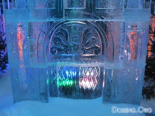 Конкурс ледяных скульптур в Голландии (14 фото)