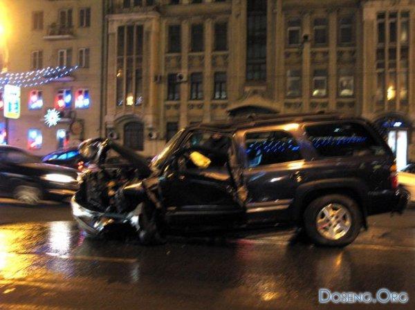 Авария на Садовом 16.01.2008