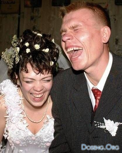 Свадебные казусы или начало совместной жизни (12 фото)