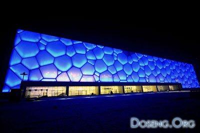 Олимпийский супер-бассейн в Пекине