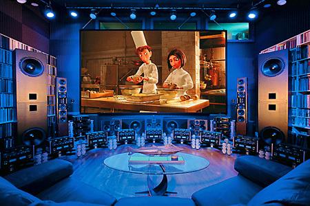 Домашний кинотеатр за 6 млн. долларов (7 фото)