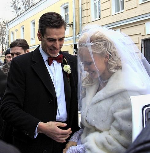 Романтическая свадьба Дмитрия Дюжева (8 фото)