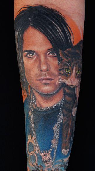 Портретные татуировки мастера Майка Девре (68 фото)