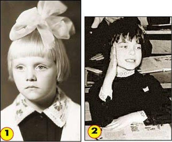 Звезды в детстве (11 фото)