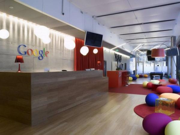 Новый офис Google в Цюрихе (20 фото)