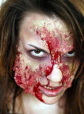 Конкурс по созданию грима для фильмов ужасов (12 фото)