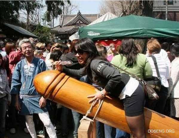 Японский праздник фаллоса