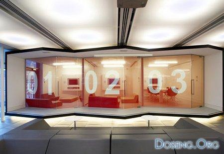 Red Bull Office by Jump Studios - дизайн нового офиса для компании Red Bull