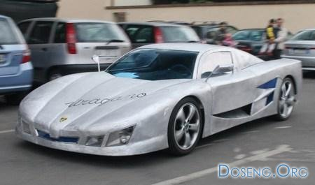 Житель Италии с нуля создал собственный суперкар