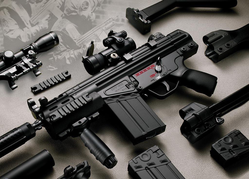 Оружие и не чего лишнего