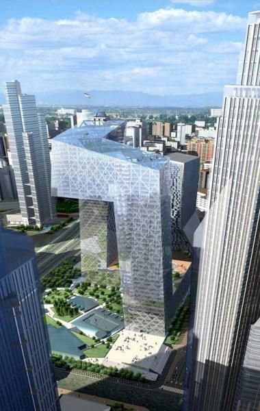 Невероятное здание нового китайского теле центра