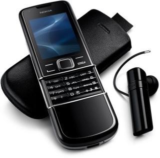 Nokia 8800 Sapphire Arte в черном цвете