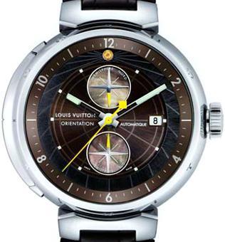 Часы путешественника от Louis Vuitton