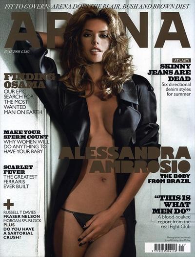 Алессандра Амбросио, июньский номер журнала Arena
