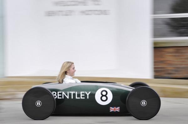 Одноместный электромобиль Bentley мощностью 0,5 л.с.