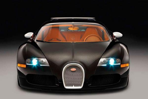 Bugatti Veyron Sang Noir — ход конём