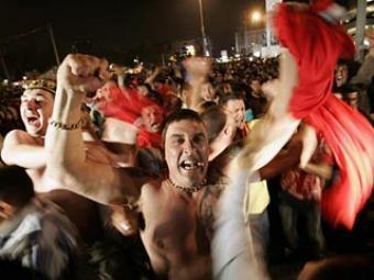 40000 английских фанатов все-таки пустят в Москву без виз