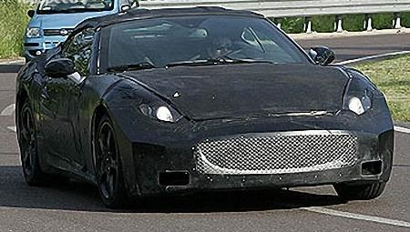 Шпионские фото новейшего спорткара от Ferrari
