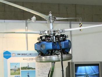Японцы создали кресло-вертолет, придуманный Леонардо да Винчи