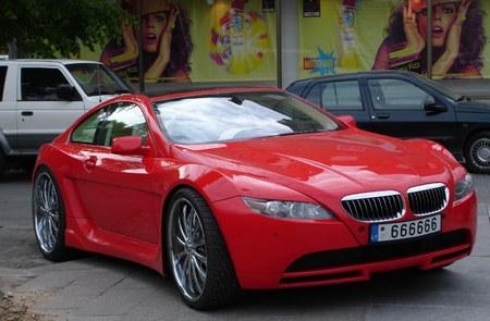 Купе BMW 6-серии от кузовного ателье из Литвы