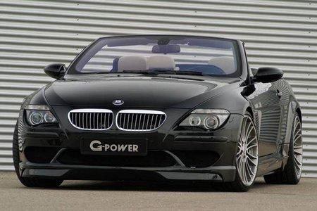 Кабриолет G-Power M6 Hurricane на базе BMW M6