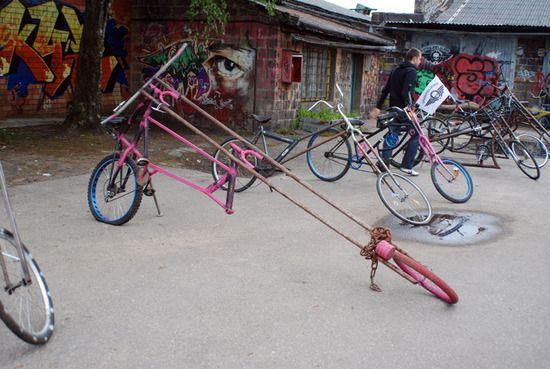 Необычные велосипеды (10 фото)