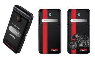 Sony Ericsson Ducati Z770 - мобильный телефон для байкеров