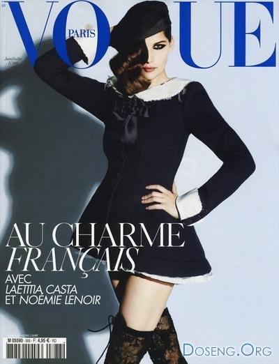 Летиция Каста (Laetitia Casta) для журнала Vogue Paris