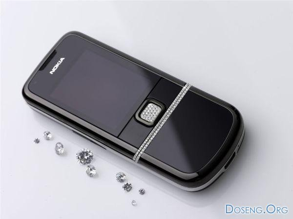 Nokia 8800 Diamond — из Норвегии с бриллиантами