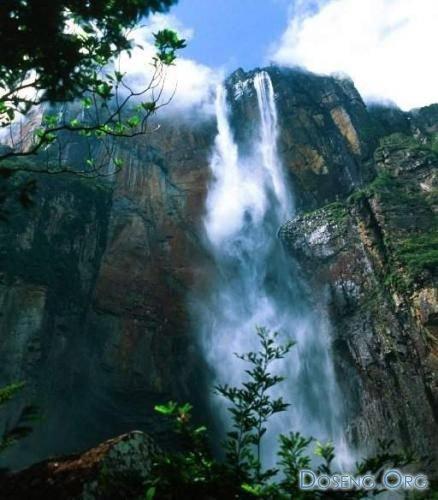 Самый высокий в мире водопад (9 фото)