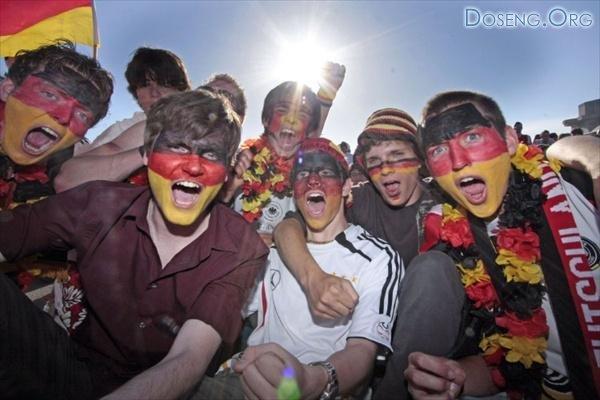 Футбольные фанаты (12 фото)