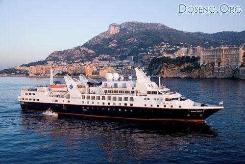 Круизный корабль Prince Albert II: Королевский отдых на воде