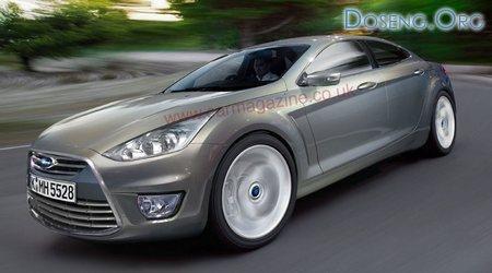 Ford разрабатывает четырехдверную купе-версию Mondeo