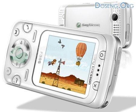 Sony Ericsson F305 – выбор геймеров