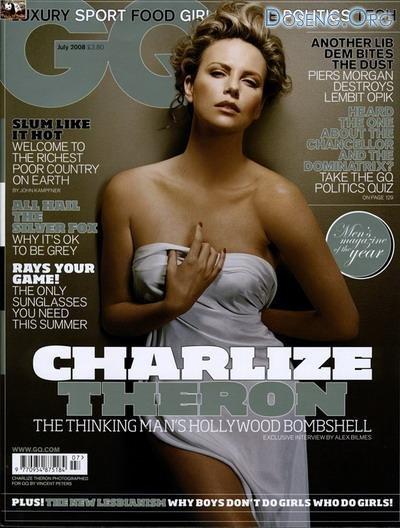 Шарлиз Терон (Charlize Theron) в GQ и W Magazine