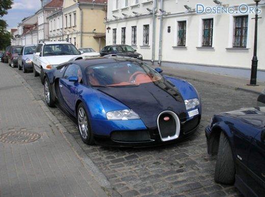 Bugatti Veyron в Минске (3 фото и текст)