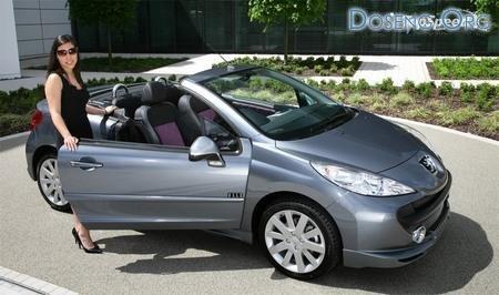 ����-��������� Peugeot 207 CC � ������ ELLE